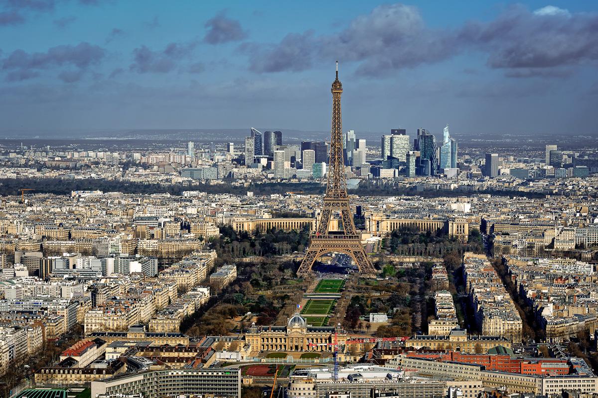 Vom Tower Montparnasse hat man einen grandiosen Blick auf die Stadt